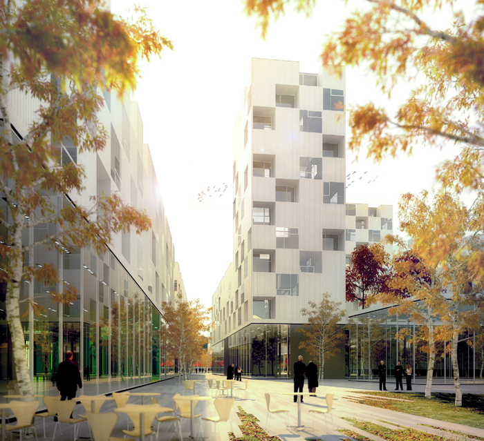 ecoquartier chavannes nicolas reymond architecture